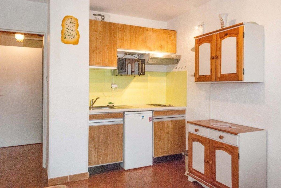 Location appartement Studio + cabine 4 couchages  - Terrasse