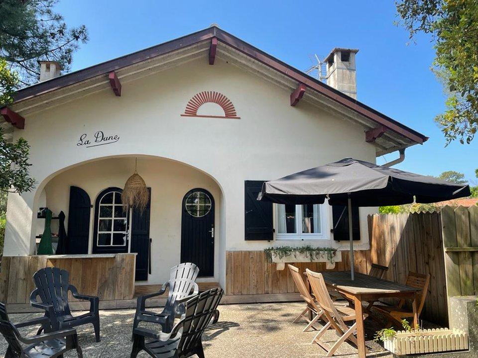 Location de vacances en villa pour 3 personnes à Capbreton(40)