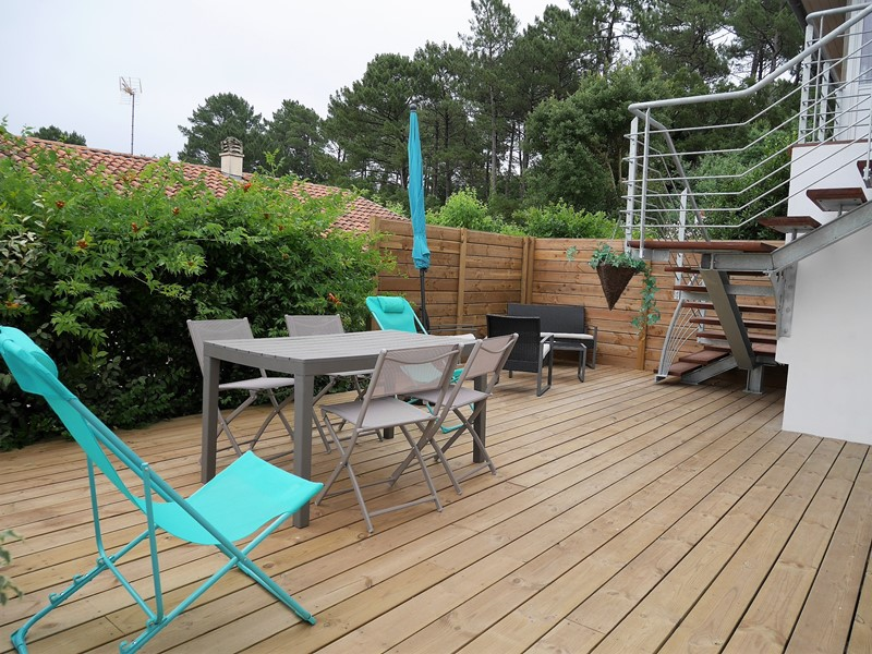 holiday rental apartment for 6 in Capbreton(40)