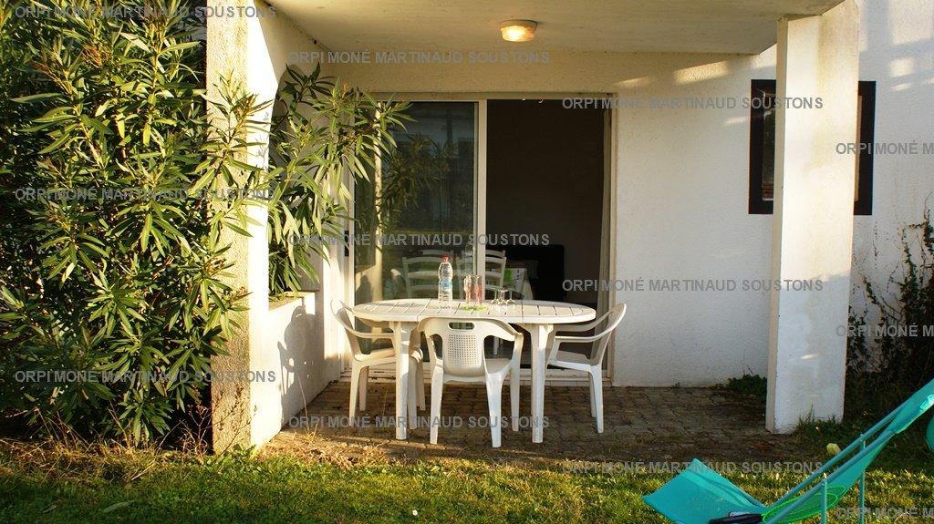 Location de vacances en appartement pour 4 personnes à Soustons(40) avec piscine