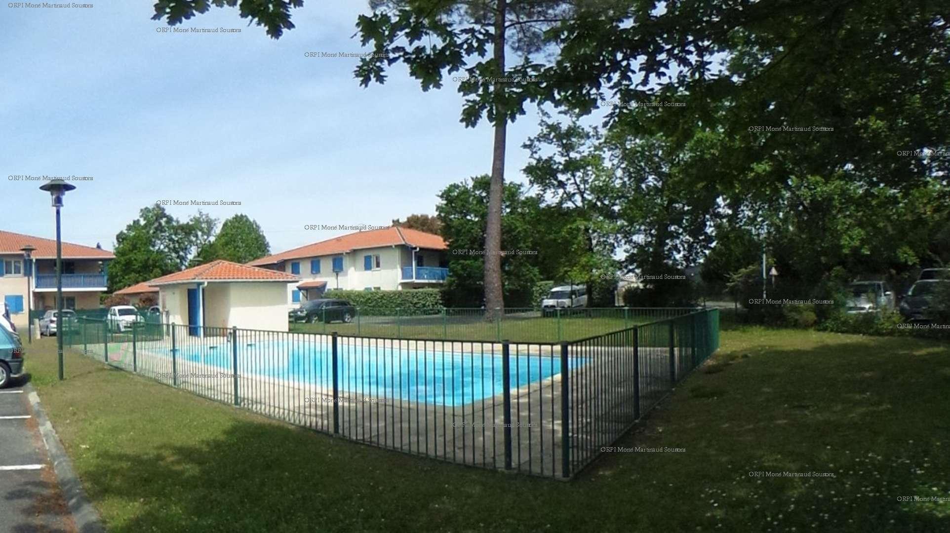 Location de vacances en appartement pour 5 personnes à Soustons(40) avec piscine