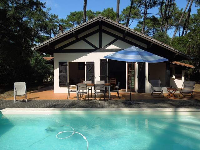 holiday rental villa for 8 in Seignosse(40) with pool