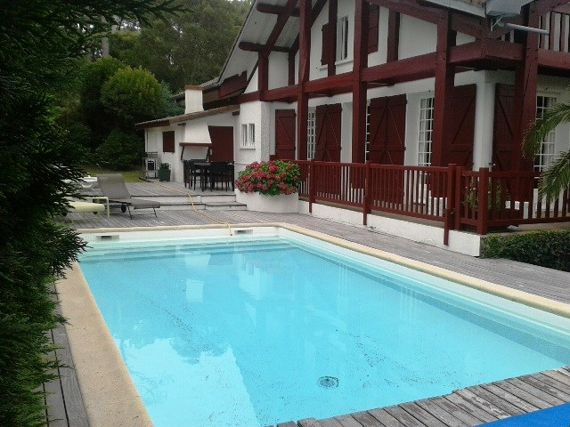 holiday rental villa for 10 in Seignosse(40) with pool