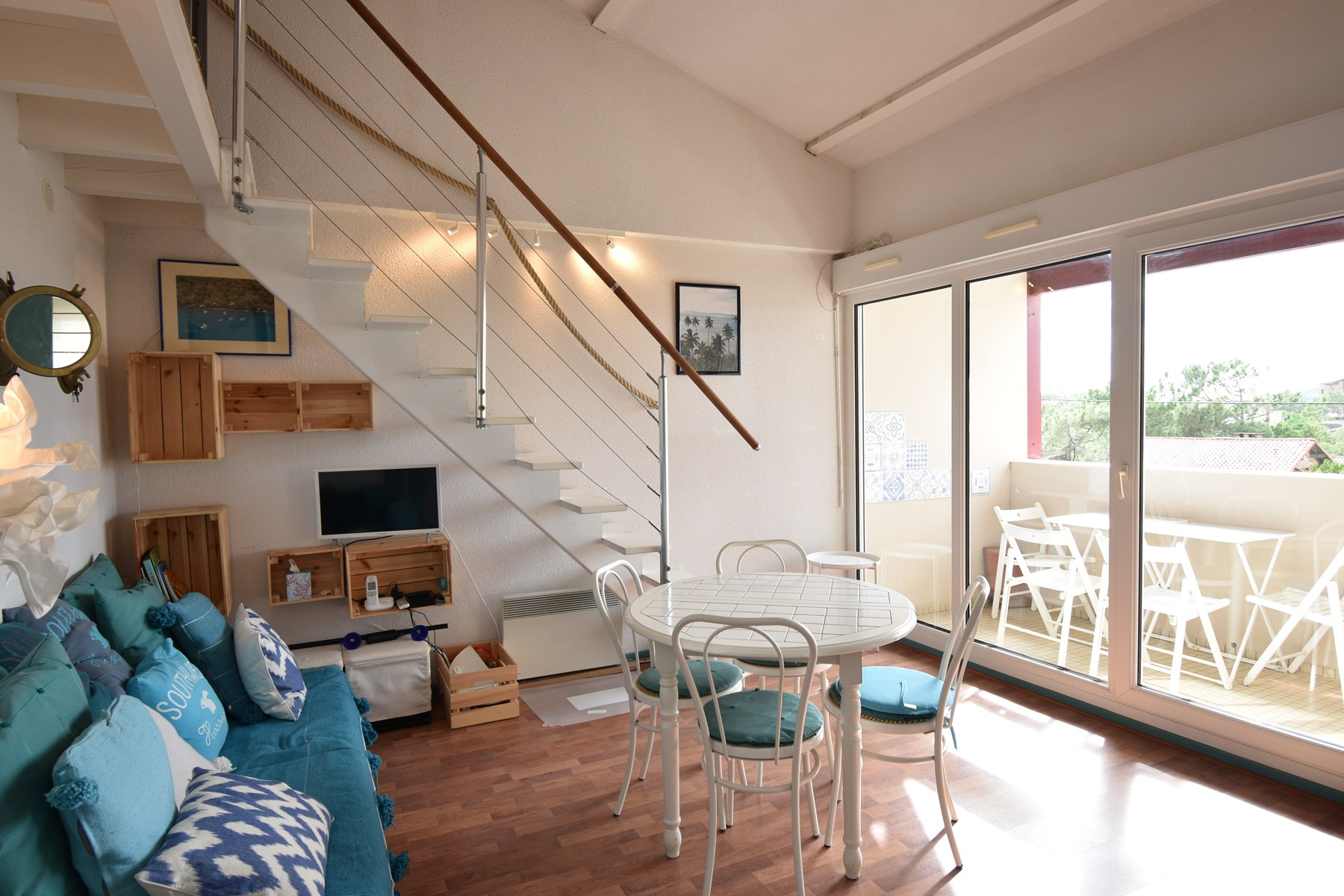 holiday rental apartment for 5 in Hossegor(40) with pool