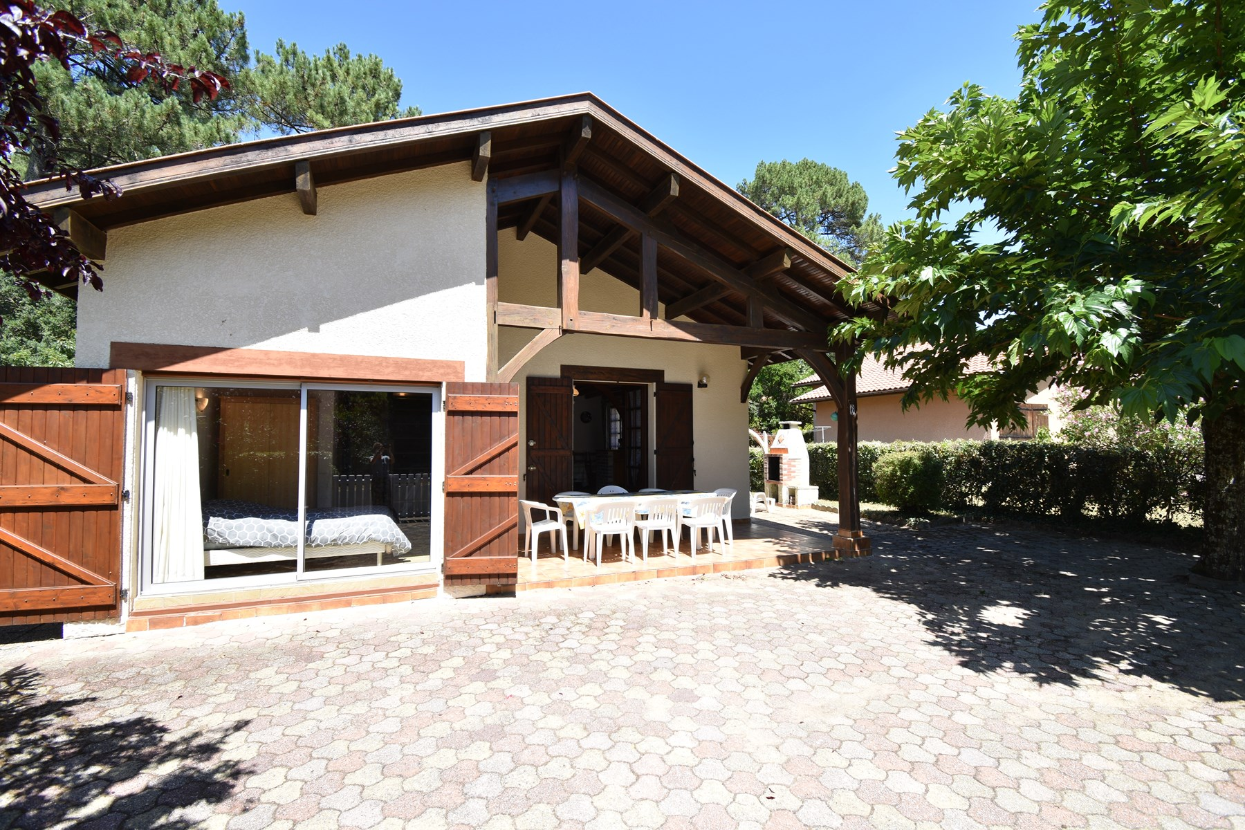 holiday rental villa for 8 in Seignosse(40)
