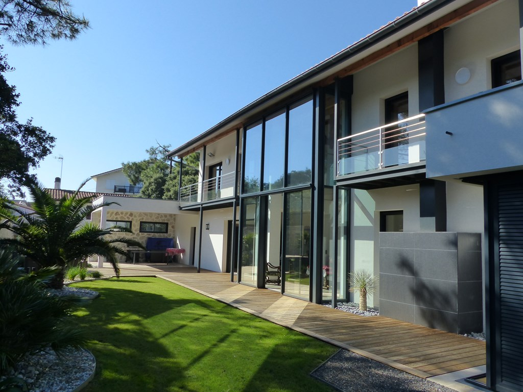 holiday rental villa for 10 in Hossegor(40)