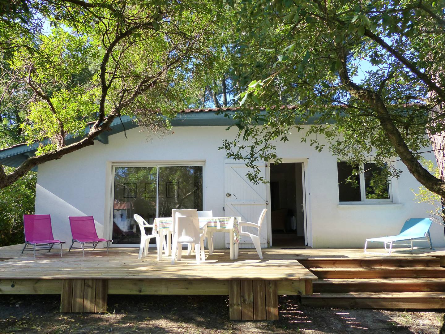 holiday rental villa for 6 in Hossegor(40)