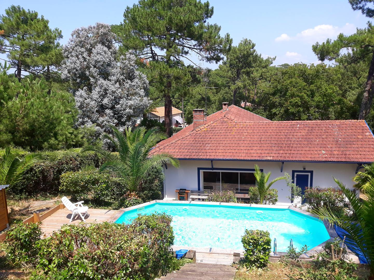 holiday rental villa for 8 in Hossegor(40) with pool