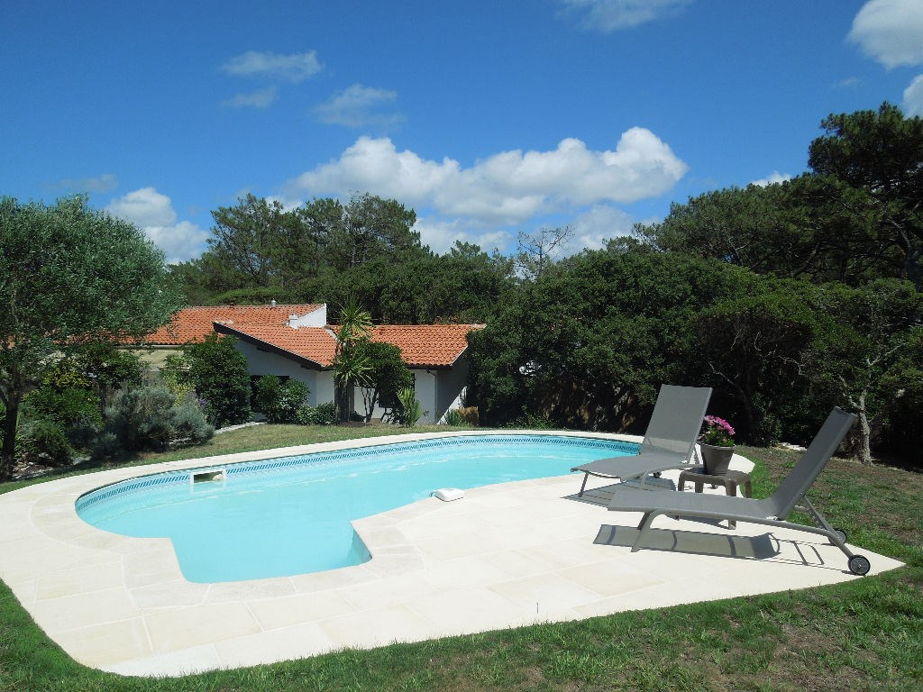 holiday rental villa for 6 in Seignosse(40) with pool