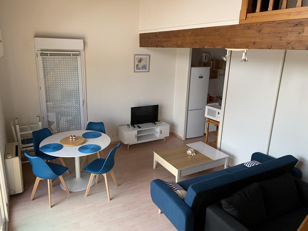 Appartement pour 4 à louer à Vieux Boucau