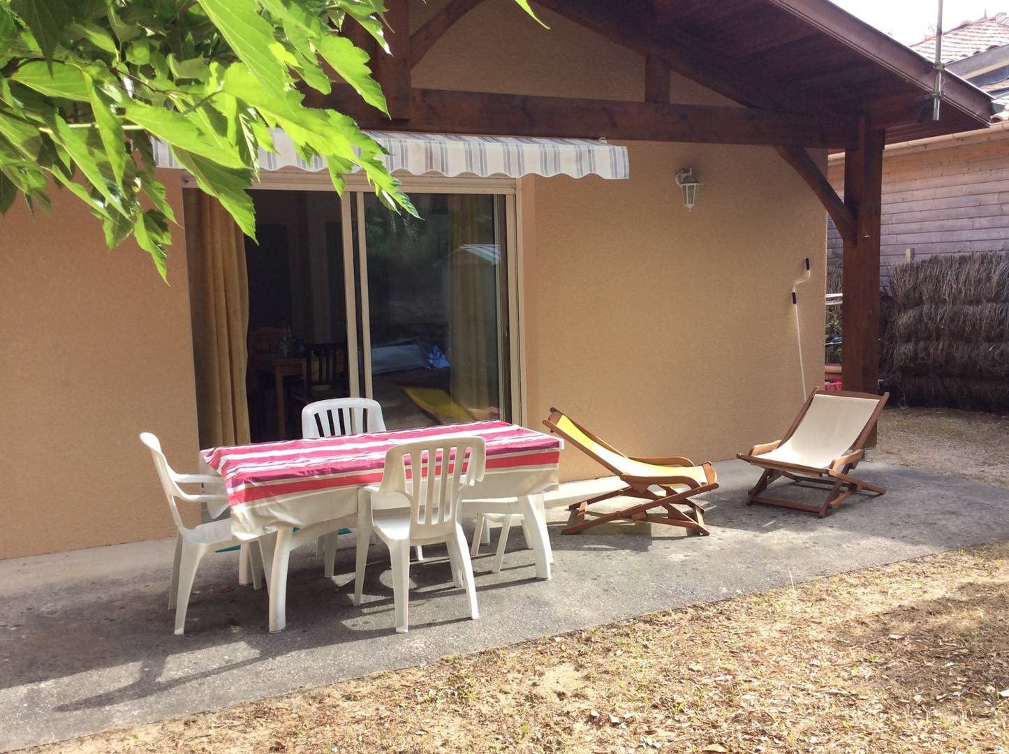 holiday rental villa for 5 in Messanges(40)