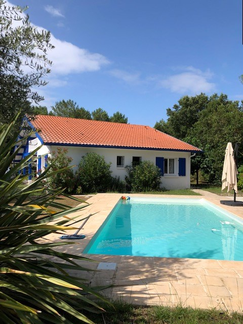 Holiday rental villa for 5 in Moliets  with pool