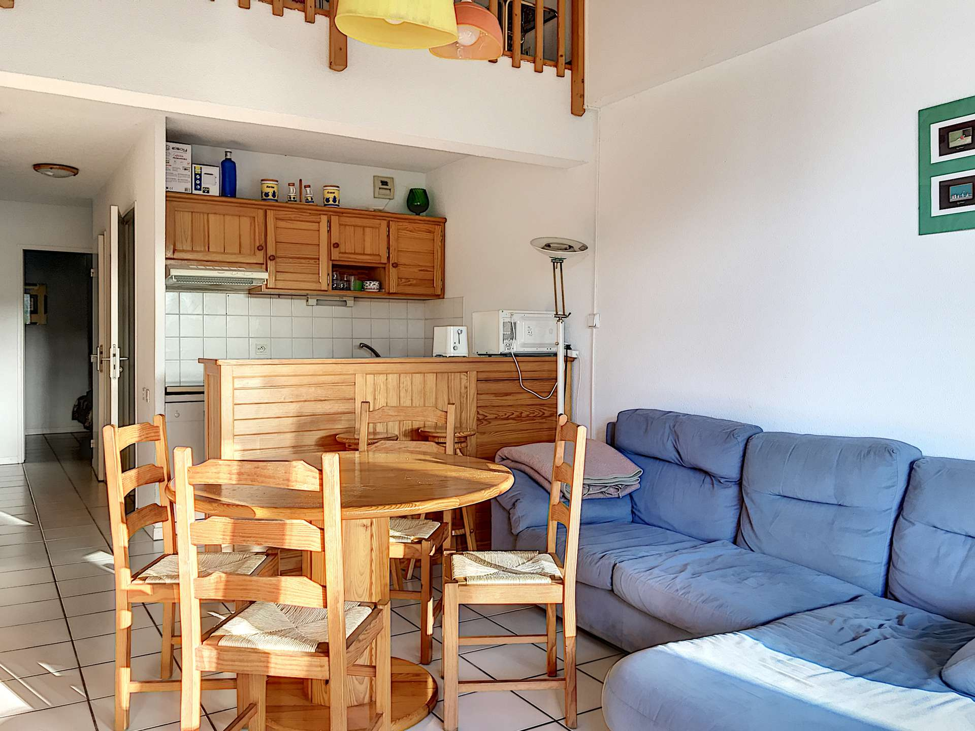 Apartment holiday rental for 5 in Soustons Plage
