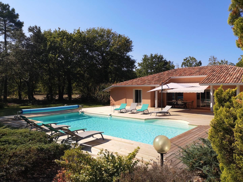 Villa pour 8 à louer à Messanges  avec piscine