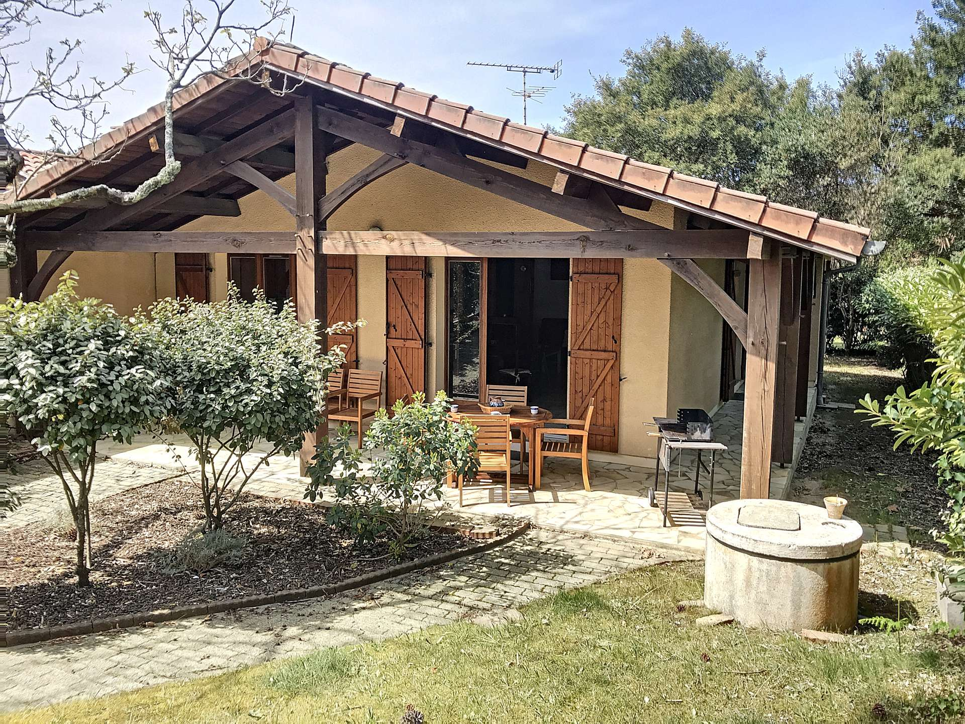 holiday rental villa for 6 in Messanges(40)