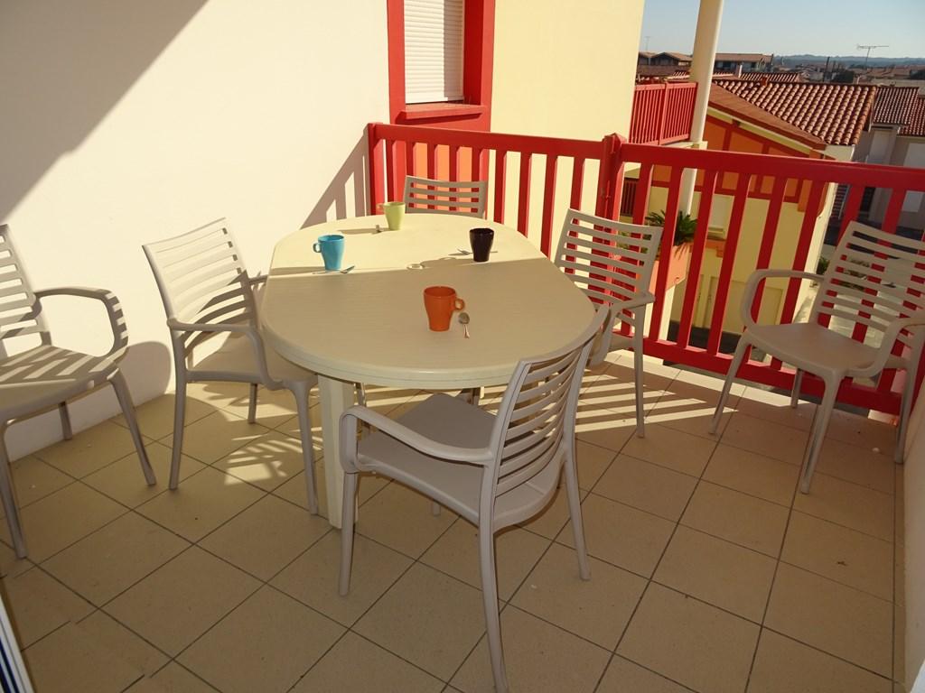 Appartement pour 5 à louer à Vieux Boucau